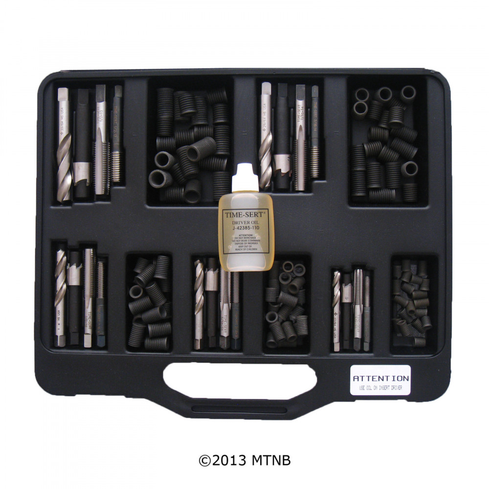 Time-Sert 0010 Inch Coarse Master Set