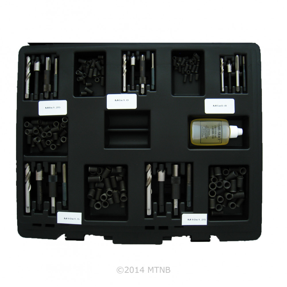 Time-Sert 2001 M5 - M18 Mega Master Metric Thread Repair Kit