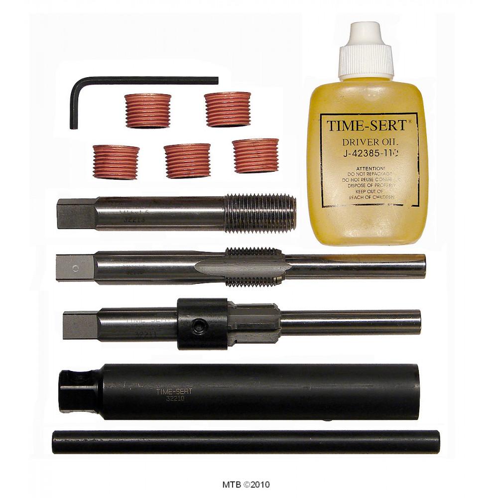 Time-Sert 3221 M16 x 1.5mm 3 Valve Ford Triton Spark Plug Thread Repair Kit