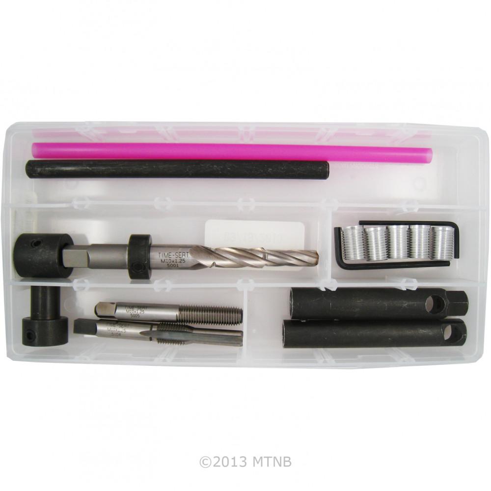 Time Sert 5000 2 Style Duramax 6.6L Diesel Repair M10 x 1.25 Glow Plug Repair Kit