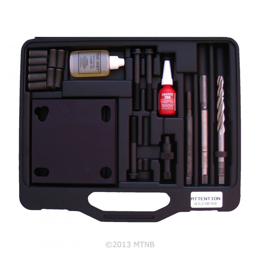 Time-Sert 7330 GM High-Feature V6 3.0/3.6 Liter M11x2.0 Headbolt Thread Repair Kit