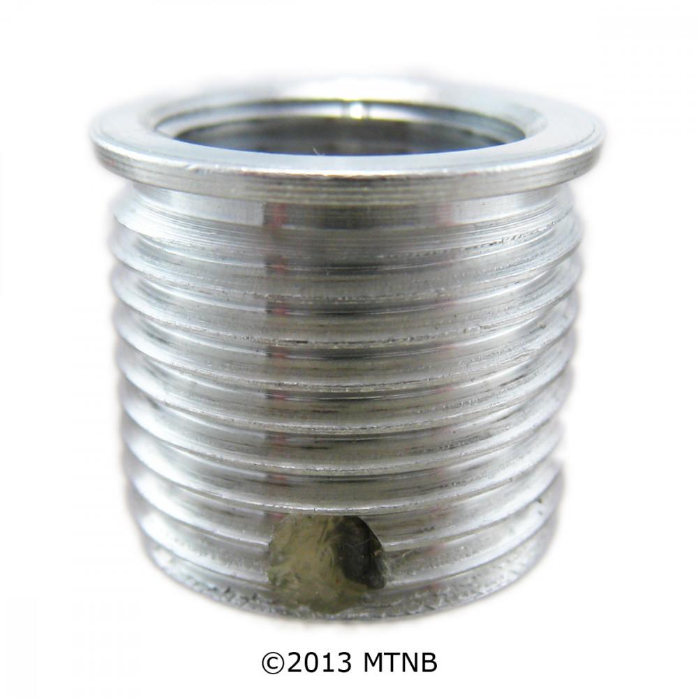 Big-Sert 51405A M14 x 1.25 x 15.0mm Aluminum Washer Seat Spark Plug Insert