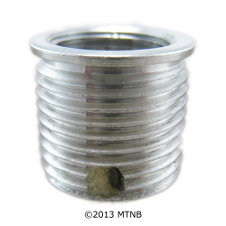 Big-Sert 51401A M14 x 1.25 x 9.4mm Aluminum Washer Seat Spark Plug Insert