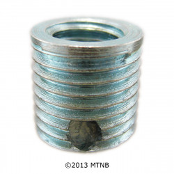 Big-Sert 56101 M6 x 1.0 x 9.4mm Metric Steel Insert