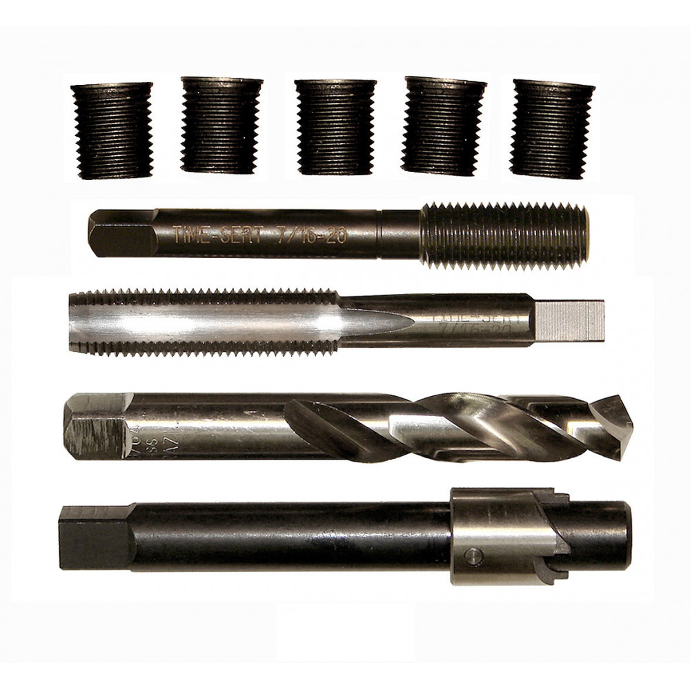 Time-Sert 0762 7/16-20 Inch Thread Repair Kit