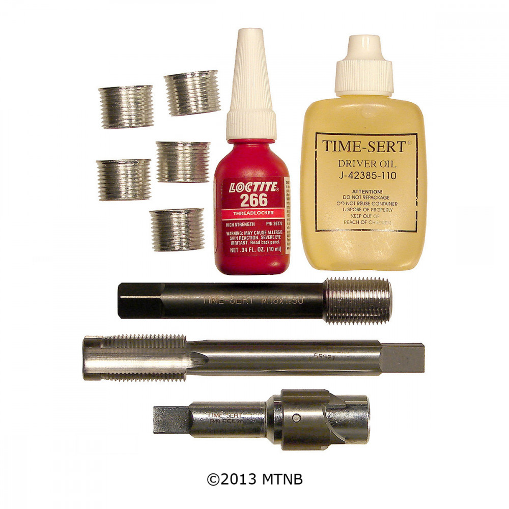 Time-Sert 5588 Ford Triton Triple Oversized Spark Plug Thread Repair Kit