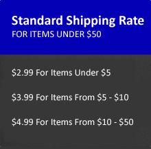 Standard Shipping Rates at Mechanics Tools and Bits